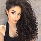 Women's Human Hair Kinky-Curly Wigs & Hairpieces