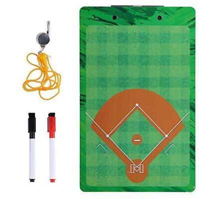 Baseball Eraser (Baseball Coaches Dry Erase Clipboard – Softball Double Sided Lineup Board Bundle )