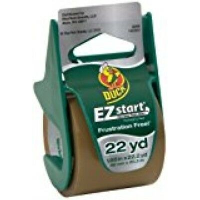 Duck Brand Ez Start Packaging Tape With Dispenser 1.88-inch X 22.2-yard Roll S
