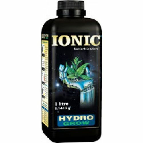IONIC HYDRO GROW 1 LITRE AND 10 PAIRS OF FREE GLOVES soft water