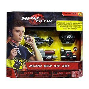 Spy Gear - Micro Spy Kit XS1 - Brand New - Fast Postage