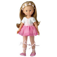 "New Corolle Camille Ballerina13"" Doll with 2 Additional Outfits"