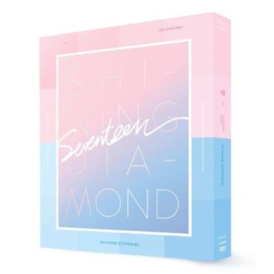 2016 LIKE SEVENTEEN SHINING DIAMOND CONCERT DVD 2DISC+184p FotoBuch K-POP SEALED