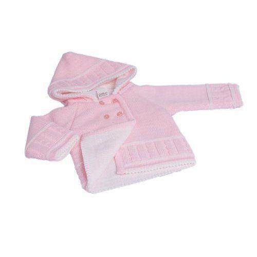 Dandelion Unisex Knitted Baby Jacket