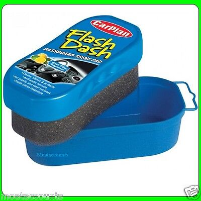 * Pack of 2* Dash Bright Dashboard Shine [FDP001]Pad sponge Fresh Citrus Scented