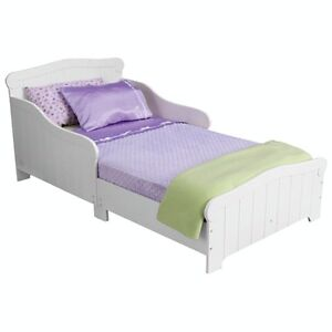 KIDKRAFT* NANTUCKET TODDLER BED (86621) - WHITE