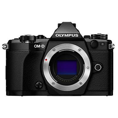 Olympus OM-D E-M5 Mark II Mirrorless Digital Camera Body Black **BRAND NEW**
