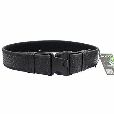 Basketweave Police Duty Belt Web Duty Belt With Loop Liner Large 40-46