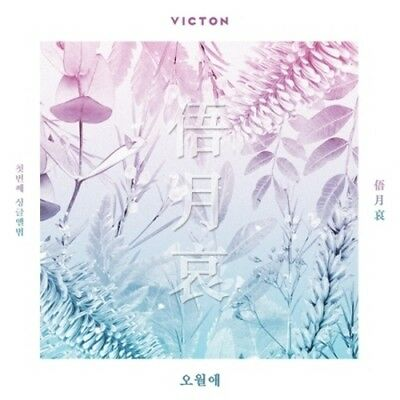 Victon-[Face The Time Of Sorrow/俉月哀/오월애]1st Single Album CD+Book+PhotoCard+Gift