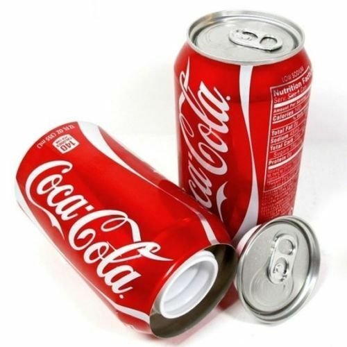 DIVERSION Stash Can Safe Hidden Storage SECRET Compartment Hide Cash Coke cola