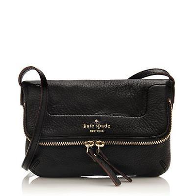 New Kate Spade New York Mariana Mansfield Black Crossbody Shoulder Bag Purse