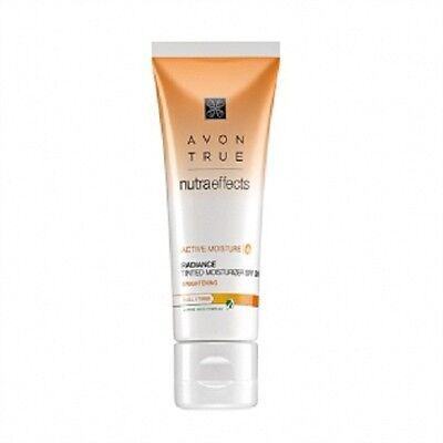 (8,98€/100ml)Avon nutra effects Radiance getönte Tagescreme LSF 20  50 ml
