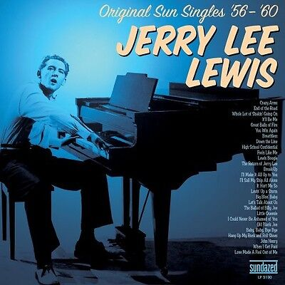 Jerry Lee Lewis   Original Sun Singles 56 60  New Vinyl  Bonus Tracks