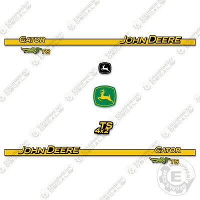 John Deere Ts 4x2 Decal Kit Utility Vehicle Gator Decals