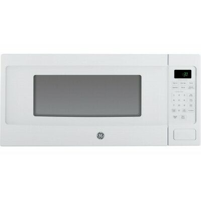 Ge - Profile Series 1.1 Cu. Ft. Mid-size Microwave - White-o