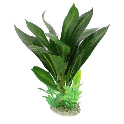 Plastic fish tank plants ebay for Fish and plant tank