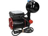 Grundfos Watermill SSR2 2.0CN Shower Pump Single Impeller Negative Head