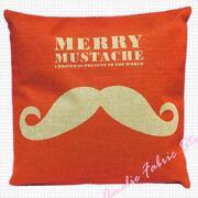 Mustache Pillow