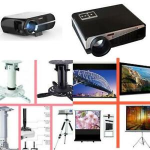 Weekly Promo! HIGH QUALITY HOME THEATER LED SMART PROJECTOR , starting from $299!