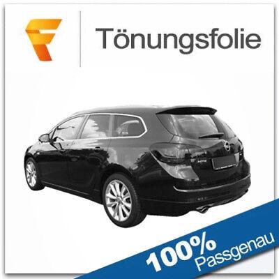 1998-2004 Black 65 Solar Screen Passgenaue T/önungsfolie Opel Astra G Kombi Bj