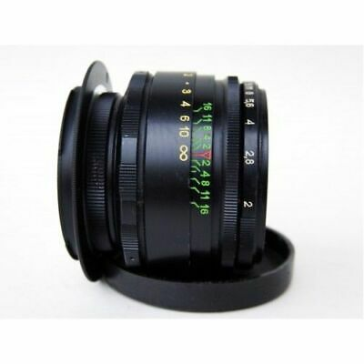 vintage Perfect HELIOS 44-2 58mm F2 lens Canon EF EOS 2 years warranty 2 caps US