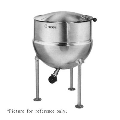 Groen Ft-80 Direct Steam 80-gallon Stationary Kettle - 25 Psi