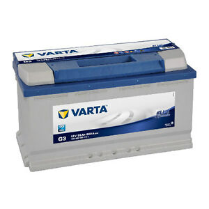 varta blue dynamic g3 95ah premium autobatterie. Black Bedroom Furniture Sets. Home Design Ideas