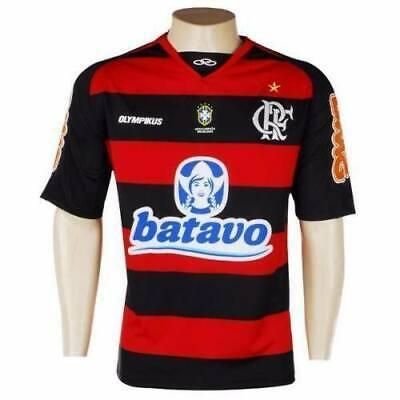 c8688b59a FLAMENGO BRAZIL SHIRT HOME BNWT  10 FOOTBALL SOCCER JERSEY TRIKOT NEW SIZE  XL