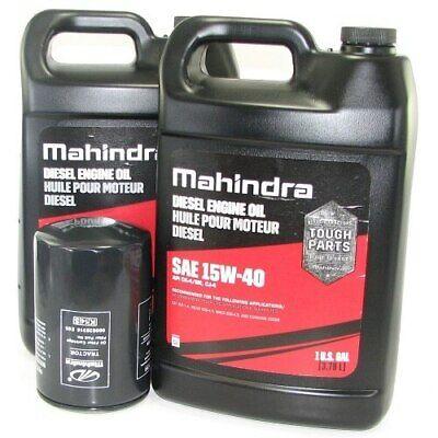 Oil Change Kit For Mahindra Tractor - 00 Series Oil Change Kit
