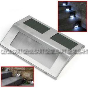 Solar deck lights ebay - Solar deck lights for steps ...