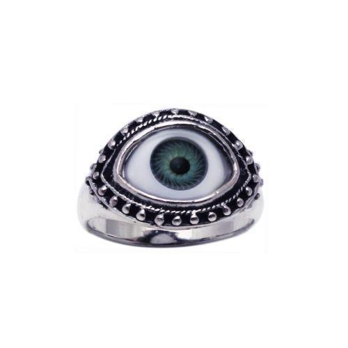 sterling evil eye ring ebay