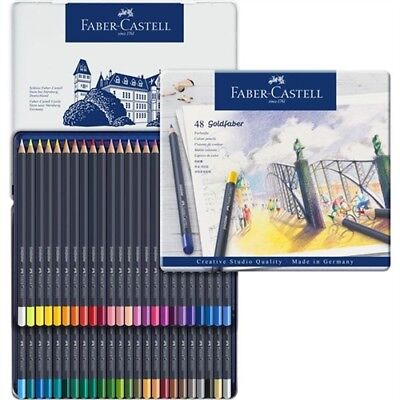 Faber-Castell Goldfaber Color pencil set of 48 (Faber Castell Colored Pencils)