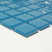 Glasmosaik Blau