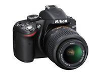 NikonD3200 DSLR Camera +18-55mm Lens + loads of extras