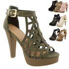 Platform Solid Sandals for Women