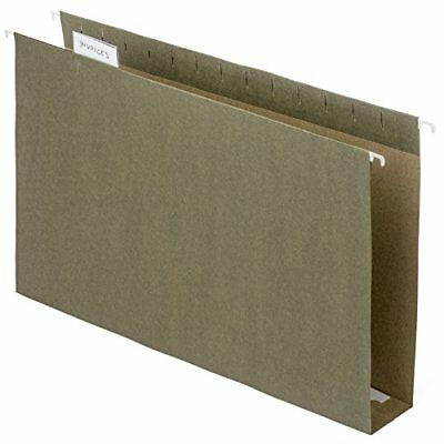 Hanging File Folders Heavy Duty 2 Expansion Filing 15 Tab Legal Size 25 Pack