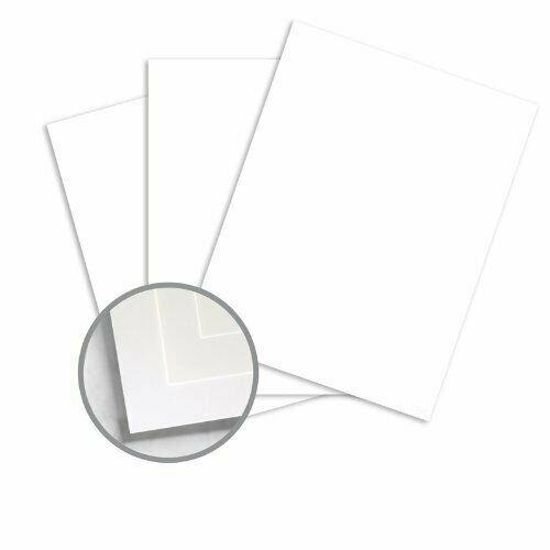 """12 x 18"""" Color Copy Premium i-Tone White Card Stock - 65lb Cover - 250 Per Pack"""