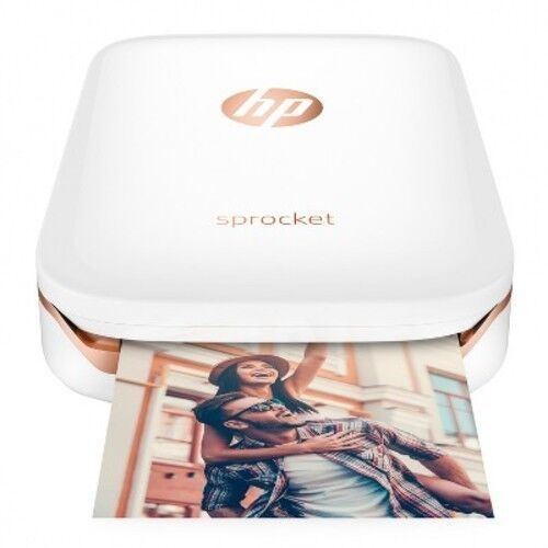 HP Sprocket Photo Printer White X7N07A