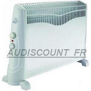 convecteur radiateur chauffage electrique 2000w neuf 01 ebay. Black Bedroom Furniture Sets. Home Design Ideas
