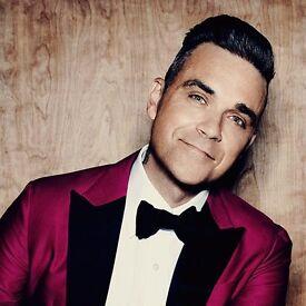 Robbie Williams 2 Tickets £50 each - Manchester