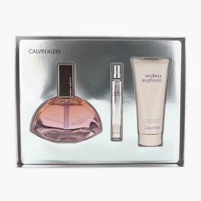 Parfum Euphoria ( Endless Euphoria Eau de Parfum Calvin Klein 4 OZ. EDP Travel perfume 3-Pc.)