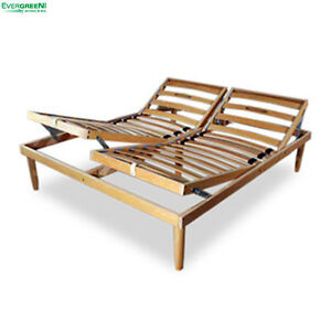 Beechwood bed base manual 2 lifters orange king 5ft x 6ft6 for 90 x 200 divan base