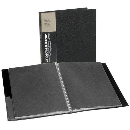 ITOYA IA-12-9 Art Profolio Storage/Display Book Album 9x12, 24 Pages/48 Photos