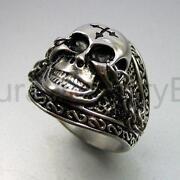 Vintage Silver Skull Ring