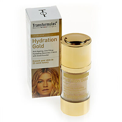 TRANSFORMULAS HYDRATION GOLD ANTI-AGEING & HYDRATING RECOVERY WRINKLE CREAM 15ml