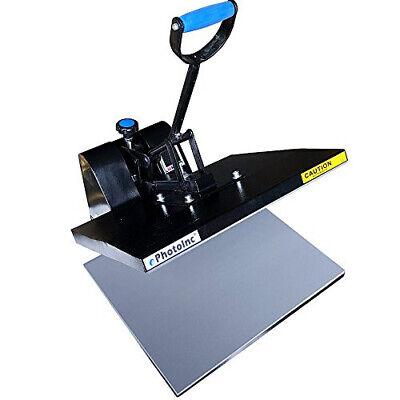 Ephotoinc 16 X 24 Digital Heat Press Machine T-shirt Transfer Clamshell Press E