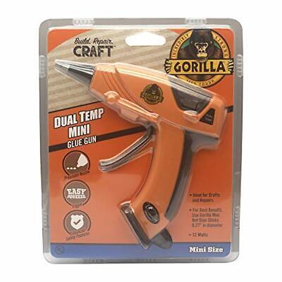 Gorilla Dual Temp Mini Hot Glue Gun Kit with 30 Hot Glue Sticks Pack of 1