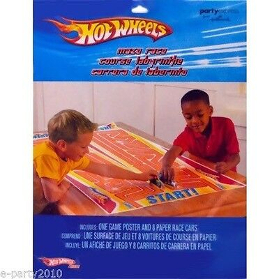 HOT WHEELS Fast Action MAZE RACE ~ Birthday Party Supplies Room Decorations - Hot Wheels Birthday Decorations
