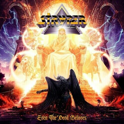 Stryper **Even The Devil Believes *NEW FACTORY SEALED CD!! NEW RELEASE!
