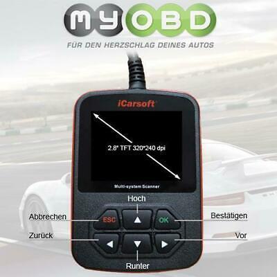 iCarsoft i903 für Infiniti Nissan Subaru Diagnosegerät 350Z Impeza Juke Qashqai gebraucht kaufen  Deutschland